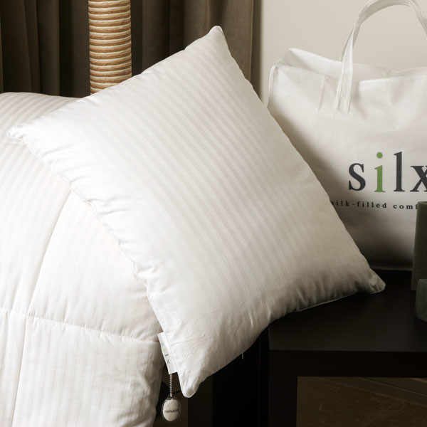 Silk-Filled Boudoir Pillow - Modern - Pillows - by Rosenberry Rooms
