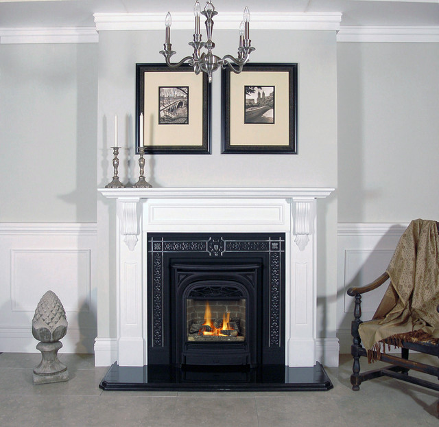 Gas Fireplace Inserts Traditional Indoor Fireplaces San Francisco By Okell 39 S Fireplace