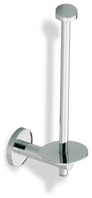 Spare Toilet Roll Holder Chrome Contemporary Toilet