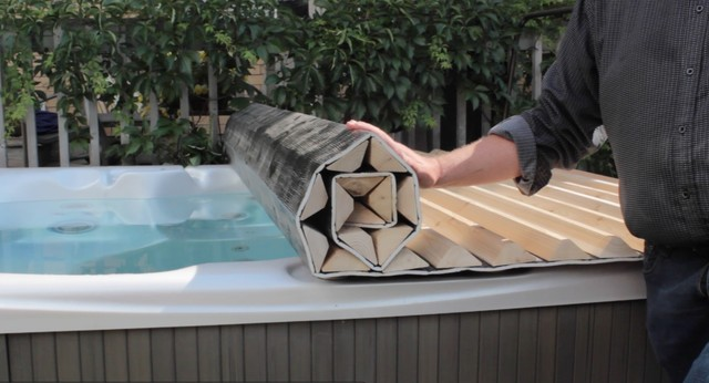 Roll Up Hot Tub Amp Spa Covers Contemporary Toronto By