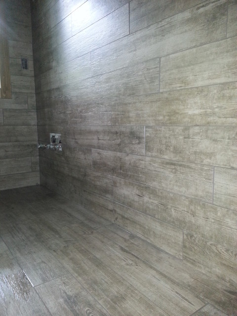 Candlewood lake new milford bathroom tile modern new for Milford flooring