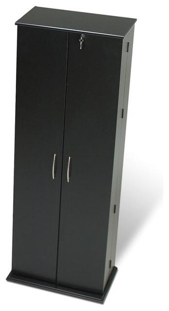 Prepac Grande Locking CD DVD Media Storage Cabinet ...