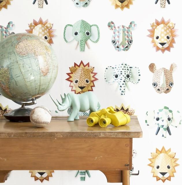 Studio Ditte Wild Animal Wallpaper