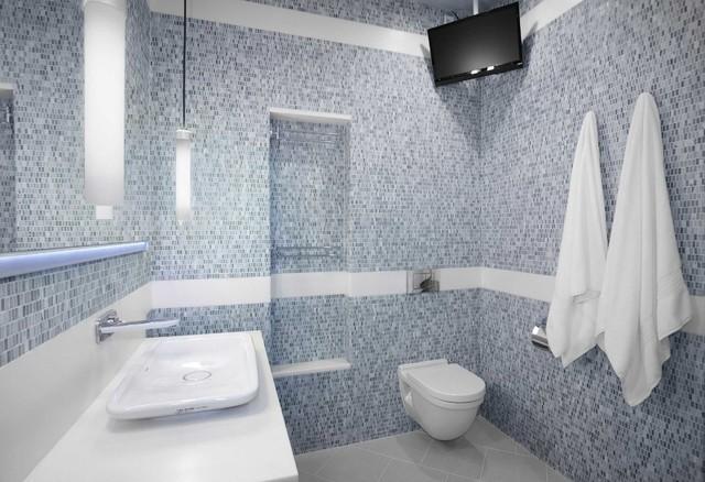 European style wetroom tucson luxury bathroom remodel for European bathroom ideas