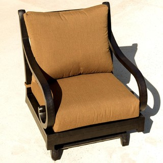 Avondale Cast Aluminum Rocking Patio Club Chair Modern Outdoor Rocking Ch