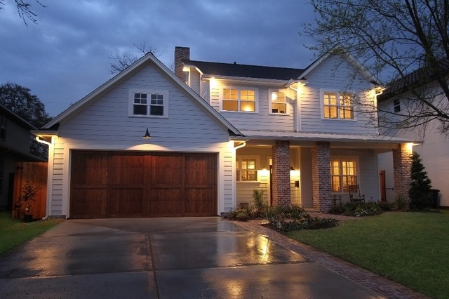 Traditional craftsman style homes for Craftsman home builders houston