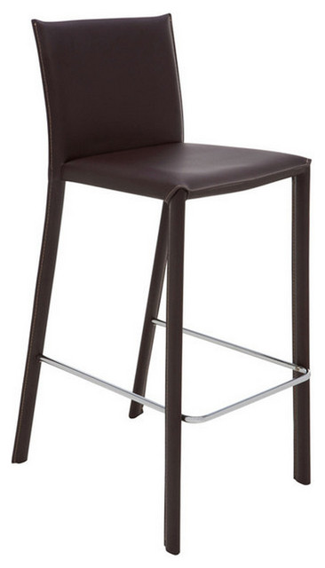 bridget counter stool brown contemporary bar stools and