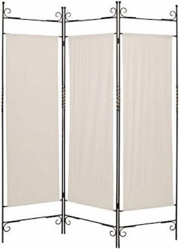 Canvas 3 Panel Floor Screen Traditional Screens And