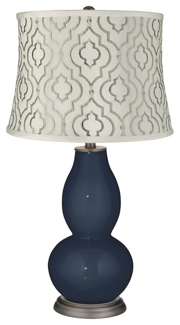 taj sea glass shade double gourd table lamp contemporary table lamps. Black Bedroom Furniture Sets. Home Design Ideas