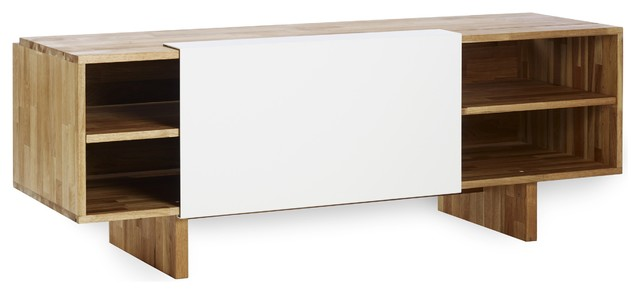 Mash Lax Modern Wood Entertainment Cabinet Moderno
