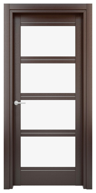 solid wood interior door color wenge model w27gs