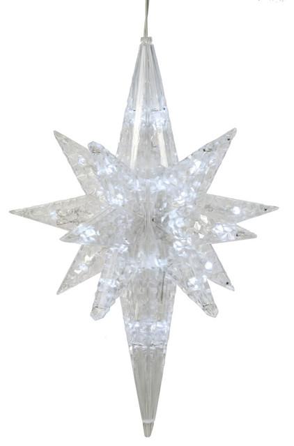 Christmas Decorations Star Of Bethlehem : Purewhite led bethlehem star contemporary christmas