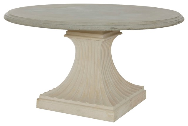 column pedestal base outdoor dining table traditional dining tables