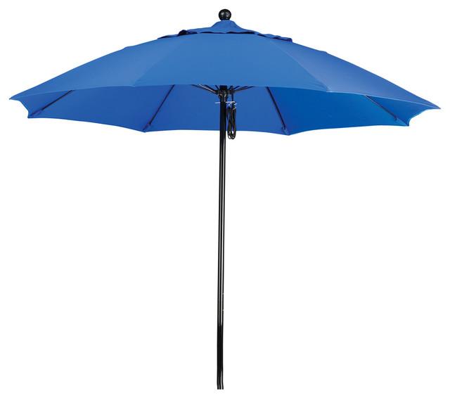 9 Foot Sunbrella Fabric Fiberglass Frame Pulley Lift Patio