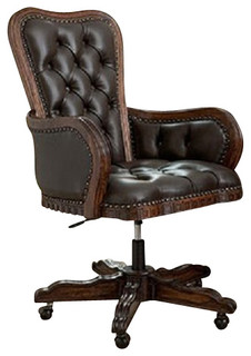 Ambella Home Collection Executive Desk Chair Traditional Office Chairs By Greatfurnituredeal