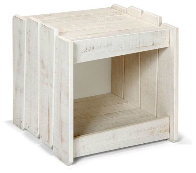 Woody wood table de chevet enfant country nightstands for Table de chevet
