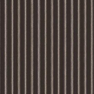 black white pinstripe woven fabric contemporain. Black Bedroom Furniture Sets. Home Design Ideas