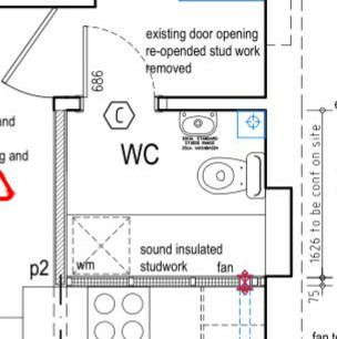 Help with layout in wc utility for Bathroom design 8 x 11