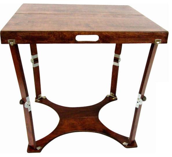 Spiderlegs Wooden Folding Homework Desk Craftsman