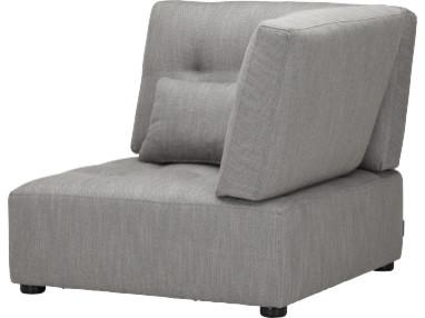 reiko chauffeuse d 39 angle droit en tissu contemporain fauteuil convertible et chauffeuse. Black Bedroom Furniture Sets. Home Design Ideas