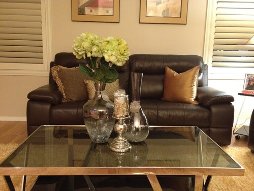 Centerpiece ideas for my coffee table for Table decor international inc