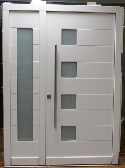 Modern exterior door model 046 contemporary front Modern glass exterior doors