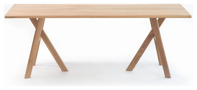 table manger en bois rectangulaire contemporary