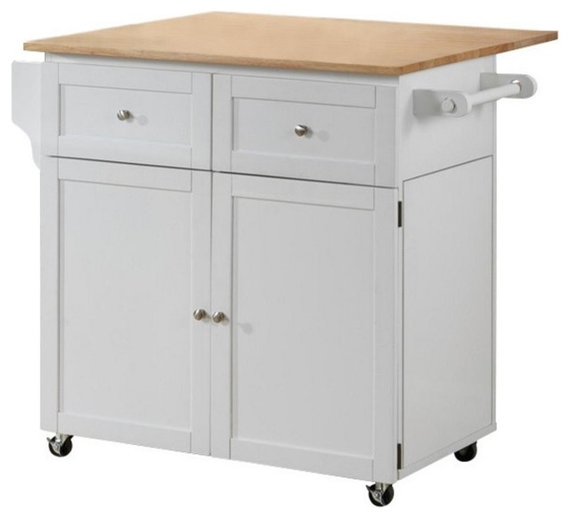 white storage kitchen cart island with trash compartment new kitchen island rolling cart wood steel legs marble top