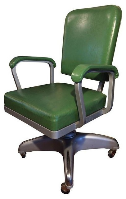 Industrial Cole Steel Swivel fice Desk Chair