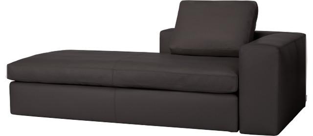 cyrus m ridienne accoudoir r versible en cuir moderne chaise longue et m ridienne par. Black Bedroom Furniture Sets. Home Design Ideas