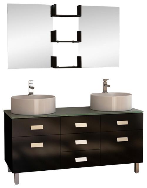 ... Vessel Sink Vanity Set modern-bathroom-vanity-units-and-sink-cabinets