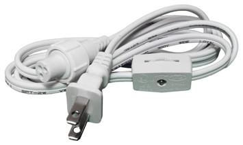 """2-Wire 120-Volt 1/2"""" x 6' Power Cord With On-Off Switch (5 Pack) - Traditional - Lighting ..."""