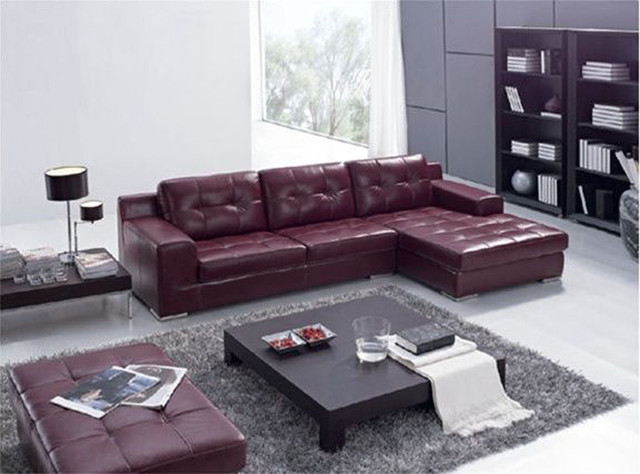 Exquisite Italian Leather Living Room Furniture Contemporary Sectional Sofas Denver By