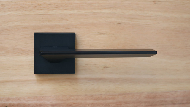 Matt Black Door Handles