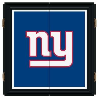 New York Giants Nfl Extreme Fan Dart Cabinet Set Modern