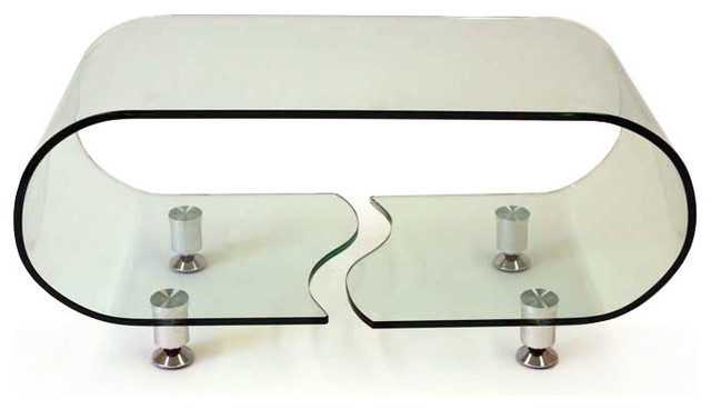 clear glass coffee table 1
