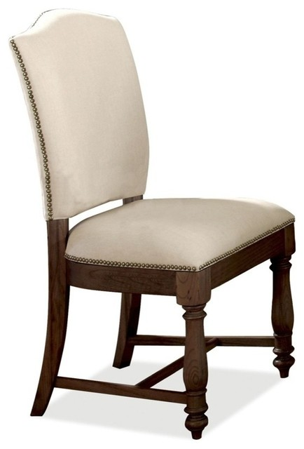 Castlewood Upholstered Side Chair Set Of 2 Traditional