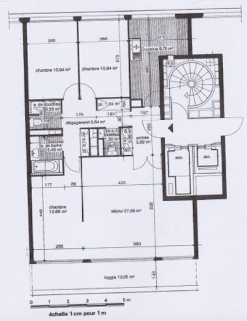 help pour revoir le plan d 39 un appartement. Black Bedroom Furniture Sets. Home Design Ideas