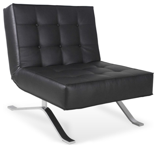 sessel wave one schwarz moderne fauteuil par. Black Bedroom Furniture Sets. Home Design Ideas