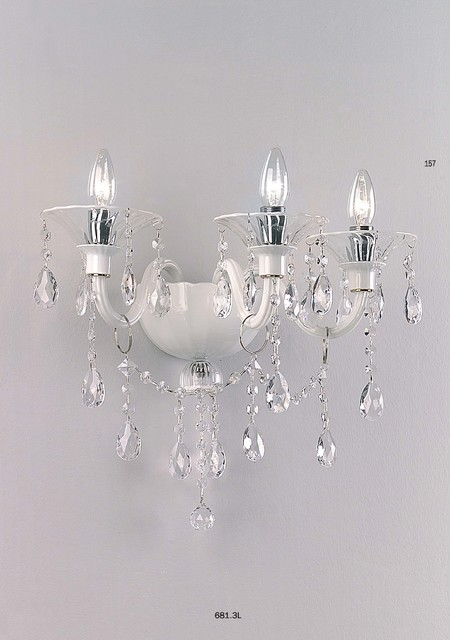 Wall Sconces And Matching Chandeliers : Cangini & Tucci MAXIMILIAN Chandelier 12 Bulbs 684.12L - Modern - Wall Sconces - by Topdomus by ...