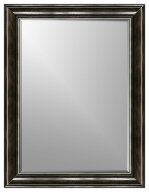 Diego Beveled Wall Mirror Black 11 X14 Wall Mirrors By Expressions