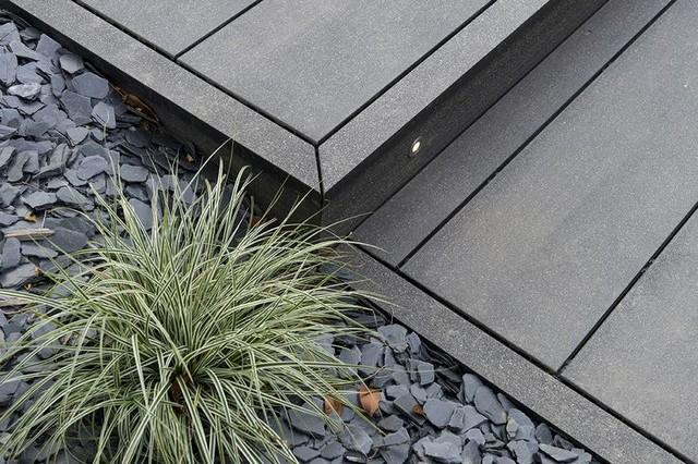 terrasse en bois composite design modernedalleetlamedeterrasseen