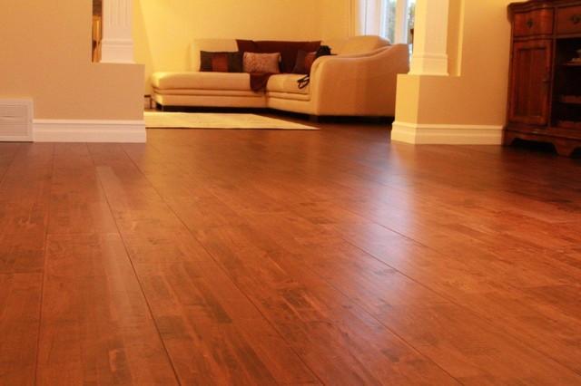 Finger Jointed Flooring : Maple finger jointed hardwood modern flooring