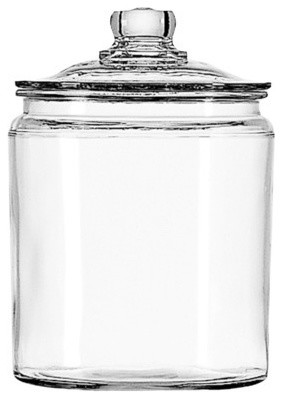 Anchor Hocking Glass Jar Set - Traditional - Kitchen Canisters And Jars - by Target