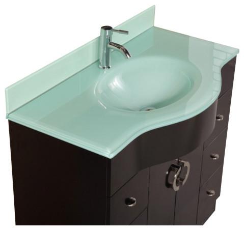 Modern Bathroom Vanity Espresso
