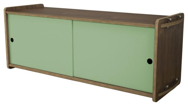 House Fish Short Key Module, Sage Green Doors modern-storage-and-organization