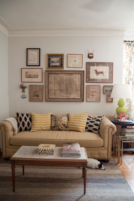 Brooklyn Co Op Eclectic Living Room New York By Lauren Gries