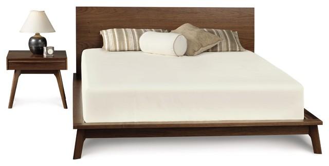 mid century modern platform bed 3