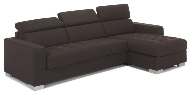 mauro canap 3 places convertible avec angle r versible contemporain canap d 39 angle par. Black Bedroom Furniture Sets. Home Design Ideas