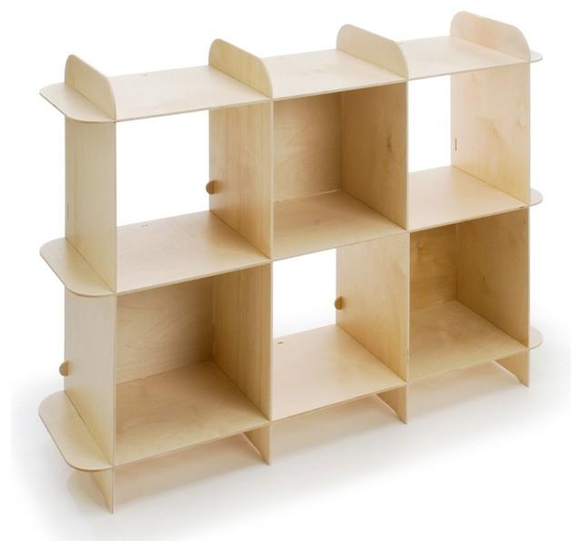 Ply Grid Shelf, Horizontal - Modern - Storage Cabinets - by Design Public